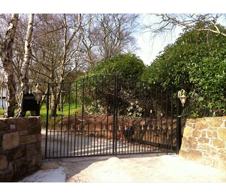 Gates & Railings Fluer gates 2