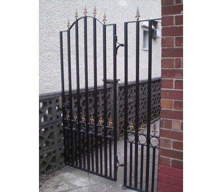 Gates and railing